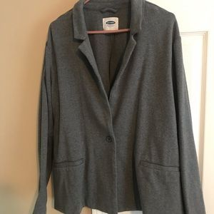Grey cotton blazer- Old Navy